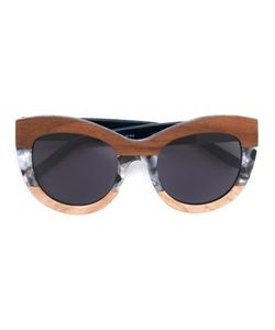 Linda Farrow Gallery | Marble Frame Sunglasses