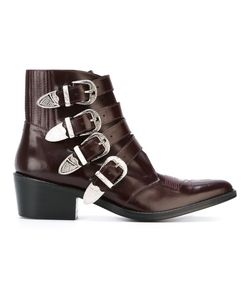 Toga Pulla   Buckle Strap Boots 39.5