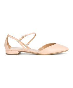 Giorgio Armani | Strappy Ballerina Shoes Size 39