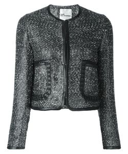 Comme Des Garçons Noir Kei Ninomiya | Shimmering Jacket Women Small