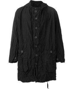 Casey Casey | Creased Short Hooded Coat