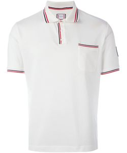 Moncler Gamme Bleu | Striped Trim Polo Shirt