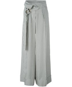 Petar Petrov | Striped Wide Leg Trousers