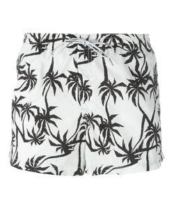 Dondup   Palm Tree Print Swim Shorts