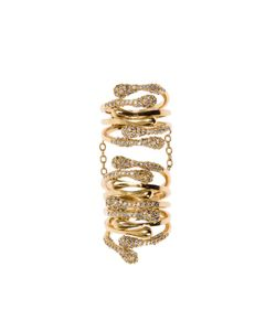 Joanna Laura Constantine | Encrusted Long Ring