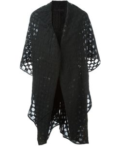 Marc Le Bihan | Sheer Pattern Cape