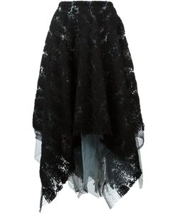 Marc Le Bihan | Embroidered Layered Skirt