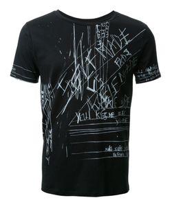 Fad Three | Notes Print T-Shirt