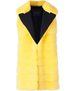 Blancha   Contrasting Notched Lapels Vest