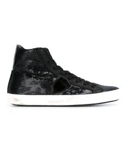 Philippe Model | Classic Lace-Up Hi-Tops 39