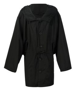Ann Demeulemeester Grise | Hooded Trench Coat Men Small