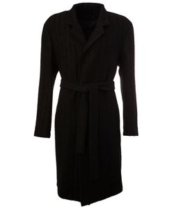 Ann Demeulemeester   Belted Coat Small