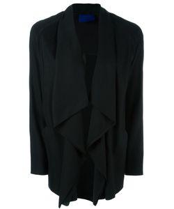 Demoo Parkchoonmoo | Draped Shawl Collar Jacket
