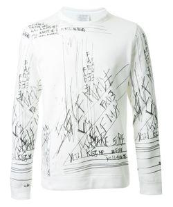 Fad Three | Scribbled Print Sweatshirt