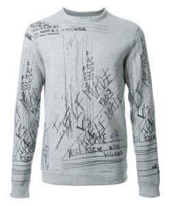 Fad Three | Notes Print Sweatshirt