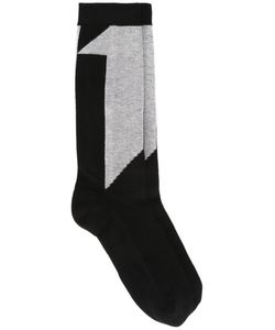 11 By Boris Bidjan Saberi | Number Intarsia Socks