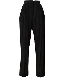 Emanuel Ungaro Vintage | Pleated Trousers Women Small