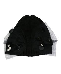 Bernstock Speirs | Tulle Bow Beanie