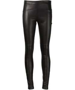 Getting Back To Square One   Lambskin Leggings
