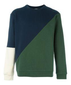 Ejxiii   Diagonal Patchwork Sweatshirt
