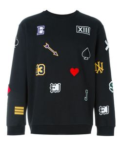 Ejxiii | Patched Sweatshirt