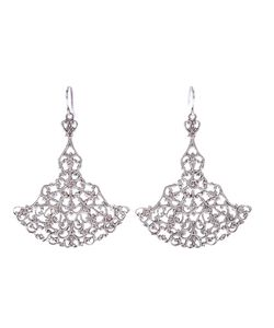 Wouters & Hendrix | Filigree Chandelier Earrings