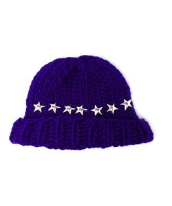 Wool And The Gang | Knitted Star Beanie Hat