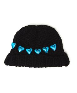 Wool And The Gang | Knitted Heart Beanie Hat