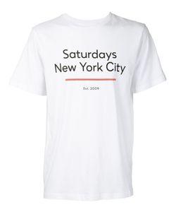 Saturdays Surf Nyc   Standard Underline T-Shirt