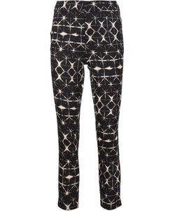 Piamita | Printed Cropped Trousers