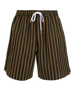 Second/Layer | Striped Shorts