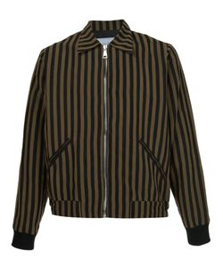 Second/Layer | Striped Bomber Jacket