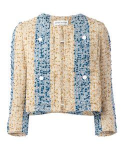 Sonia Rykiel | Embroidered Stripe Jacket Size 40