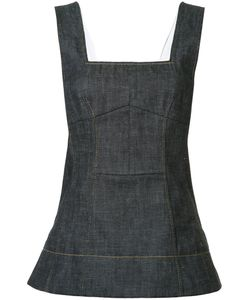 Derek Lam | Flared Denim Tank Size 40