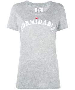 Zoe Karssen | Formidable T-Shirt Medium Cotton/Modal