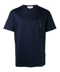 Salvatore Ferragamo   Chest Patch T-Shirt Size Large
