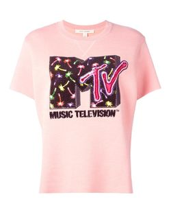 Marc Jacobs | Mtv X Embellished Short Sleeve Sweatshirt