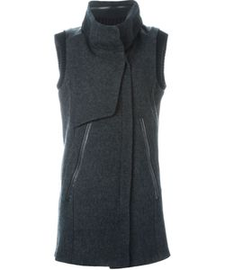 Demoo Parkchoonmoo | Funnel Neck Sleeveless Coat