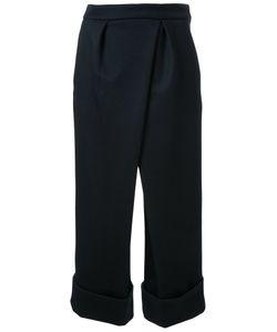 Fad Three | Turn Up Hem Trousers Medium