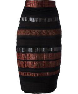 Gianfranco Ferre Vintage | Paneled Pencil Skirt