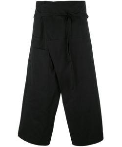 Isabel Benenato | Wrap Around Three Quarter Trousers 48