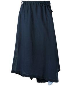Y's   Asymmetric Wrap Skirt Size 1