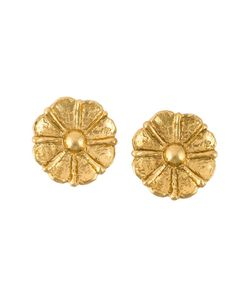 Jean Louis Scherrer Vintage | Flower Earrings