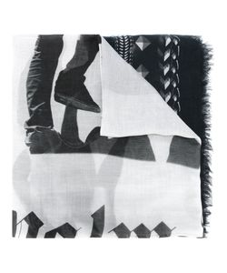 Palm Angels | Geometric Print Scarf