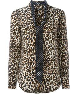 Equipment | Leopard Print Shirt