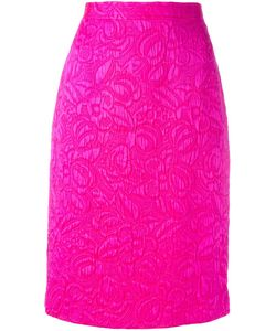 Emanuel Ungaro Vintage   Cloqué Skirt