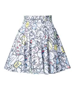 Mira Mikati | Printed Full Skirt Size 36