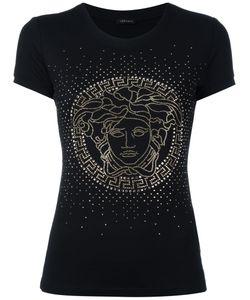 Versace | Crystal-Embellished Medusa T-Shirt Size 42
