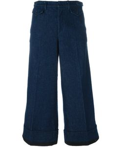 No21 | Cropped Wide Leg Jeans