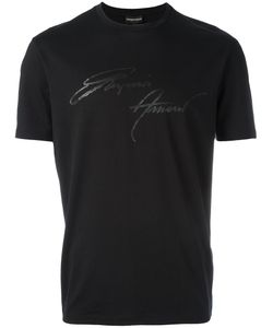 Emporio Armani | Signature Print T-Shirt Size Small